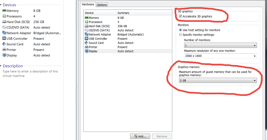 how to connect usb to vmware virtual machine